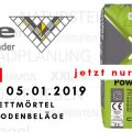 Aktion power_CX_3_ecotec Flexibler Dünnbettmörtel für Wand- und Bodenbeläge