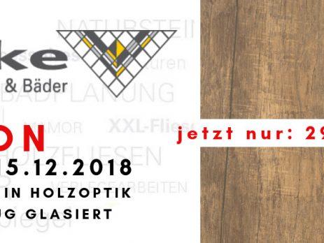 AKTION Bodenfliese in Holzoptik